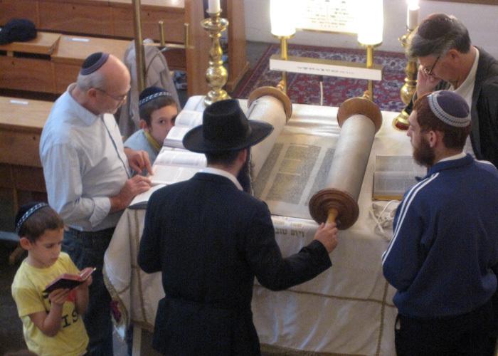 Torah läsning